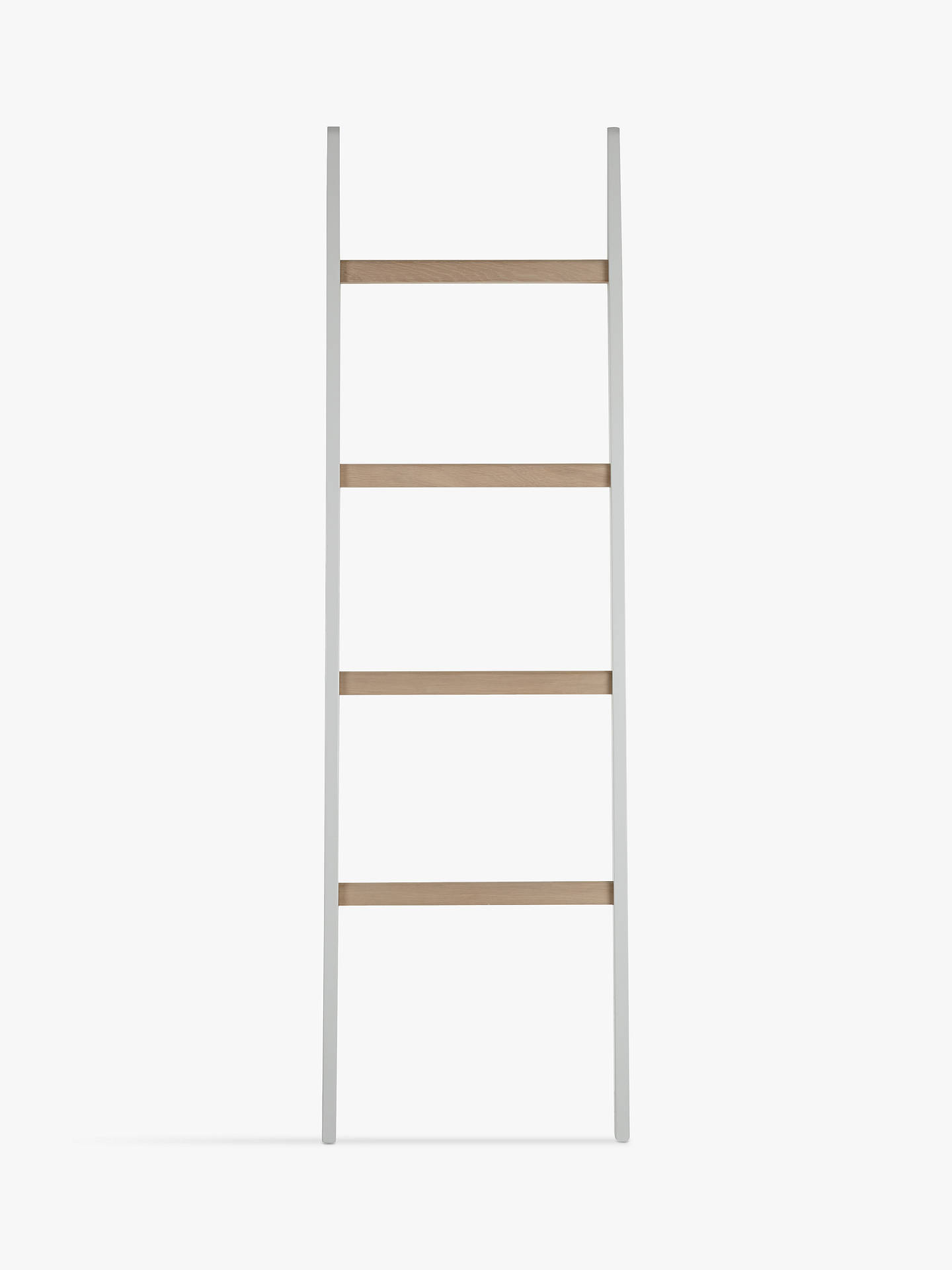 sports shoes c4c40 8d588 Croft Collection Blakeney Leaning Shelf Ladder, Light Silver