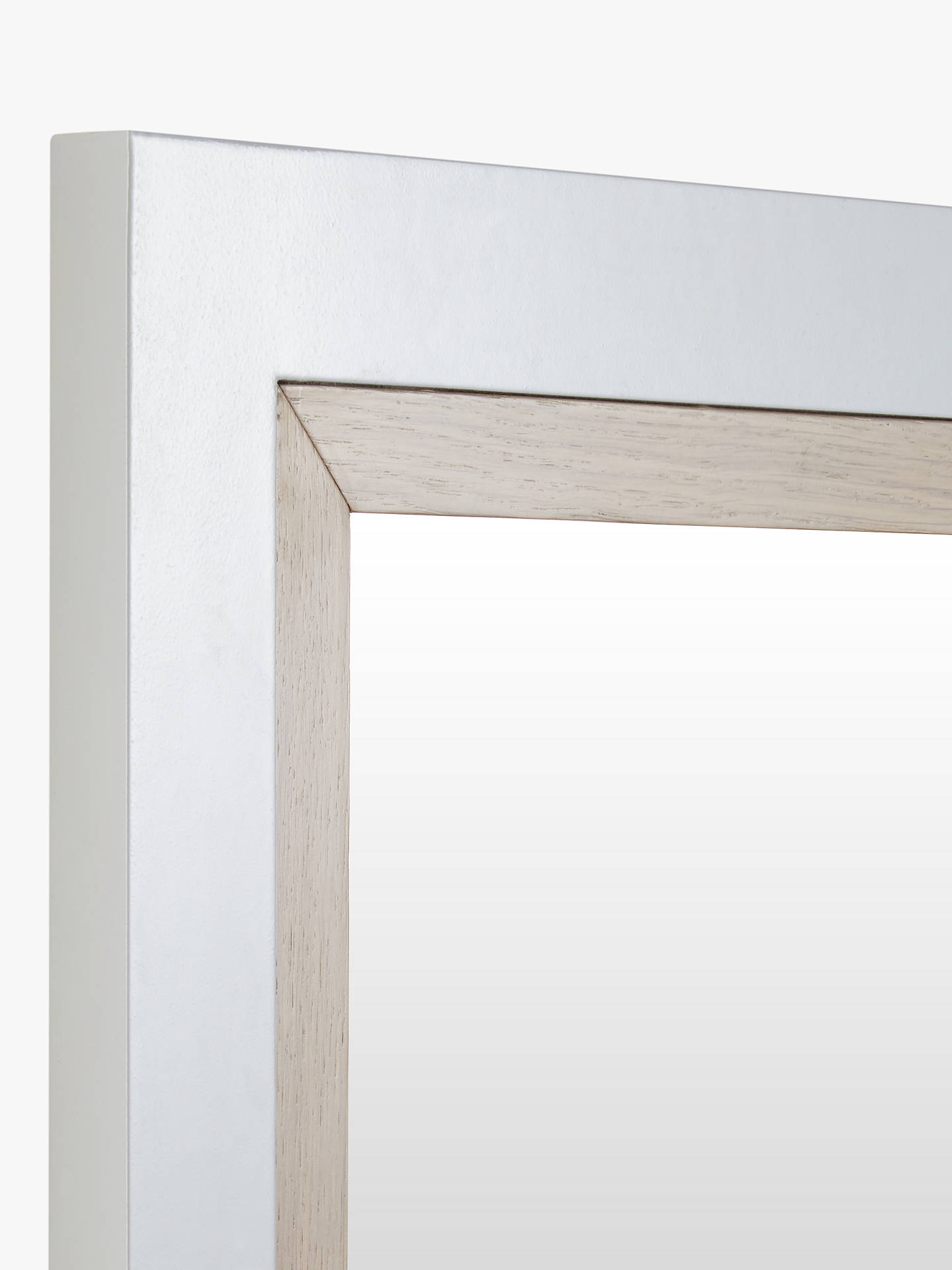 ... BuyCroft Collection Blakeney Bathroom Mirror, Light Silver Online at johnlewis.com ...