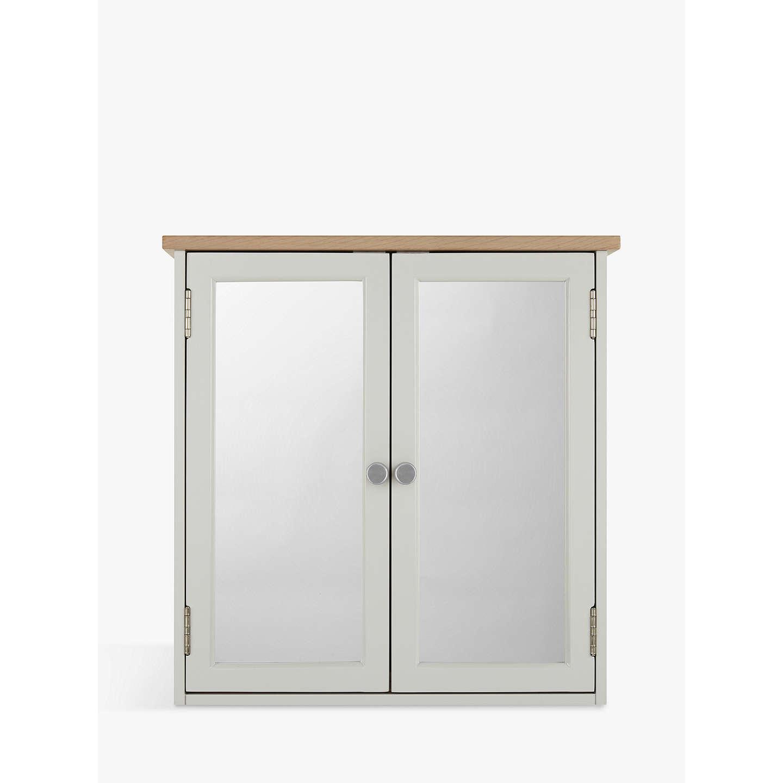 Croft Collection Blakeney Double Mirrored Bathroom Cabinet. Light ...