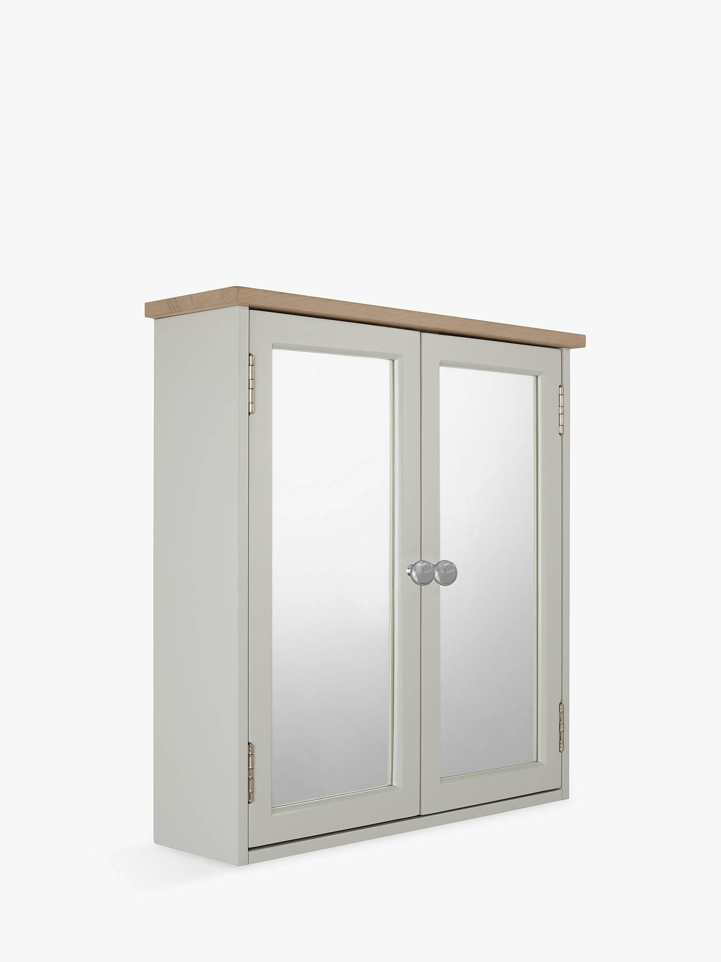 Croft Collection Blakeney Double Mirrored Bathroom Cabinet, Light ...