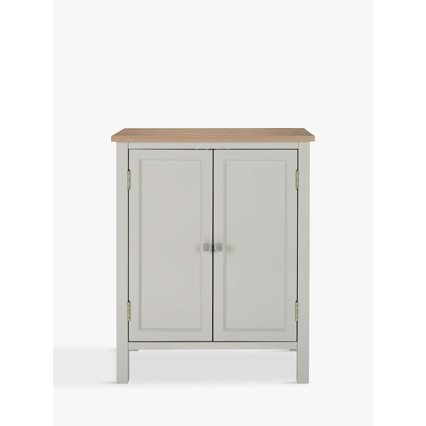 Free Standing Kitchen Cabinets John Lewis: Croft Collection Blakeney Double Towel Cabinet, Light