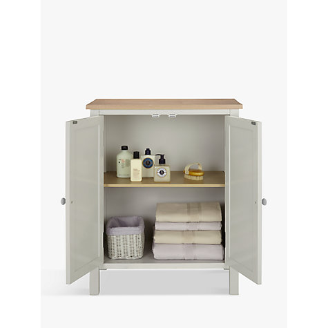 buy john lewis croft collection blakeney double towel cabinet online at johnlewiscom