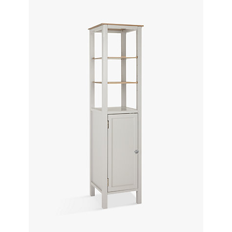 Buy John Lewis Croft Collection Blakeney Bathroom Tallboy  Light Silver  Online at johnlewis com. Bathroom Cabinets   Bathroom Vanities   John Lewis