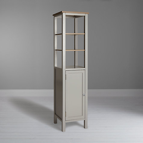 Silver bathroom cupboard for Bathroom storage ideas john lewis