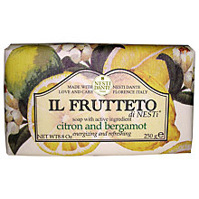Buy Nesti Dante Il Frutteto Citron & Bergamot Soap, 250g Online at johnlewis.com