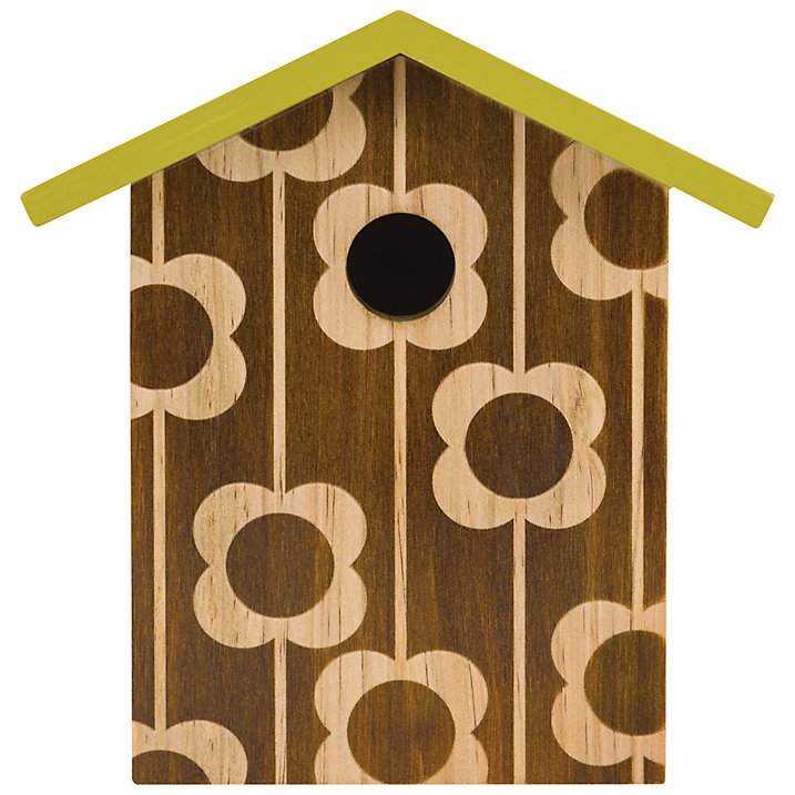 Buy Orla Kiely Engraved Bird House Online at johnlewis.com