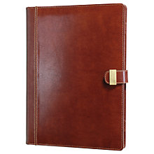 Buy Dulwich Designs Heritage A4 Folio, Brown Online at johnlewis.com