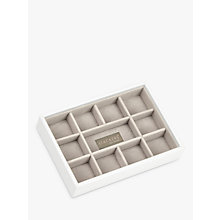 Buy Stackers, Mini Jewellery Tray, White Online at johnlewis.com