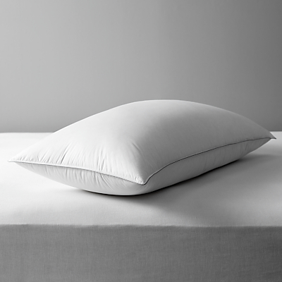 John Lewis The Ultimate Collection Canadian Goose Down Kingsize Pillow, Medium/Firm