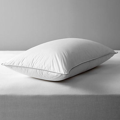John Lewis The Ultimate Collection Canadian Goose Down Standard Pillow, Medium/Firm