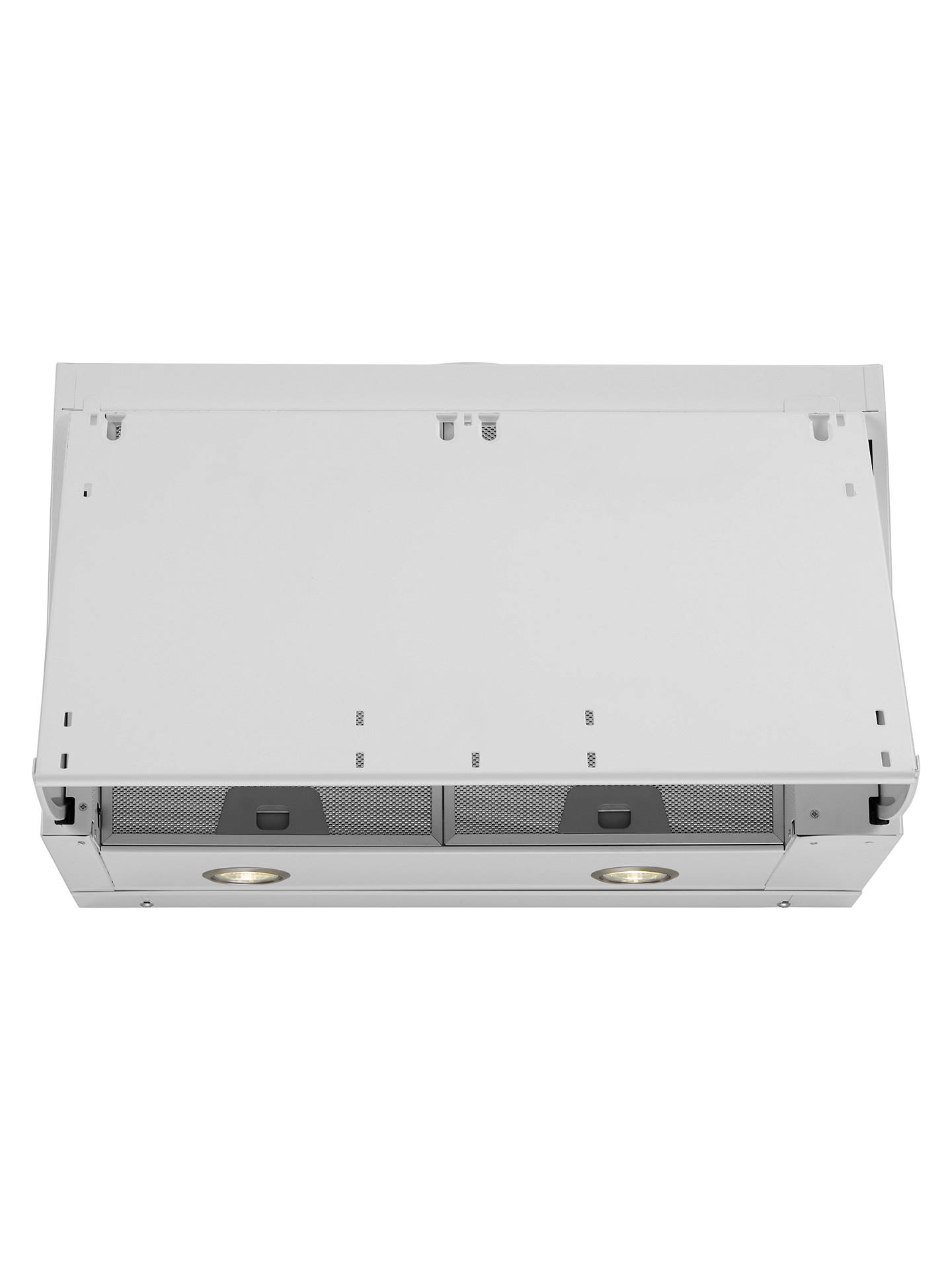 Buy John Lewis & Partners JLHDA631 Built-In Cooker Hood, White Online at johnlewis.com