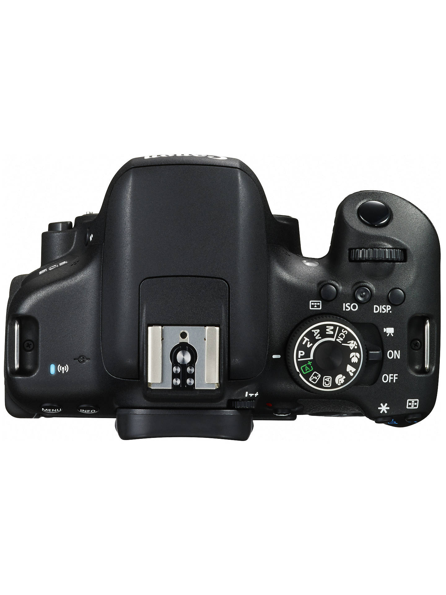 "BuyCanon EOS 750D Digital SLR with 18-55mm IS STM Lens, HD 1080p, 24.2MP, Wi-Fi, NFC, 3.0"" Vari Angle LCD Screen Online at johnlewis.com"