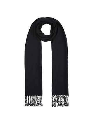 John Lewis & Partners Wool Mix Occasion Scarf
