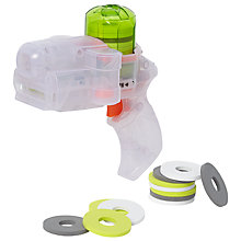 Buy John Lewis Clear Disc Blaster Pistol Online at johnlewis.com