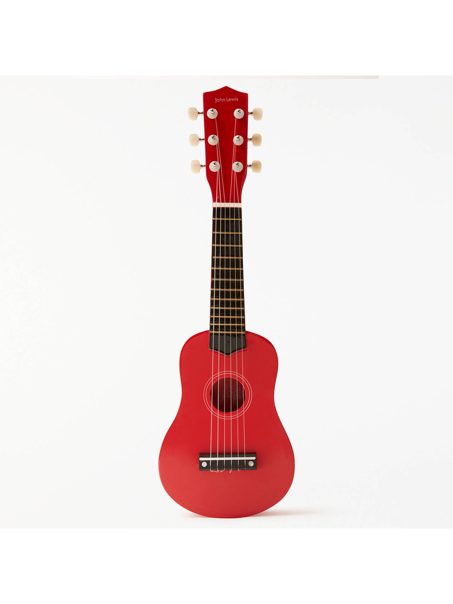 Buy John Lewis & Partners Wooden Mini Guitar Toy Online at johnlewis.com