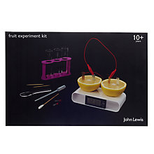 Buy John Lewis Fruit Experiment Kit Online at johnlewis.com