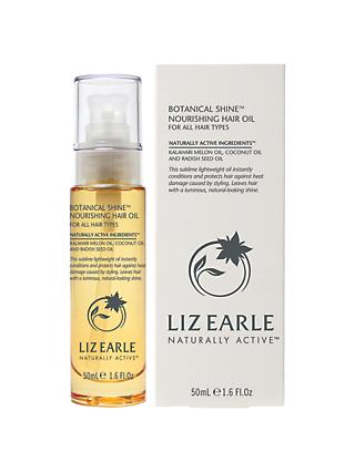 Liz Earle Botanical Hair Shine Oil, 50ml