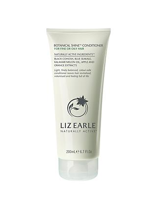 Liz Earle Shine Conditioner for Fine/Oily Hair, 200ml