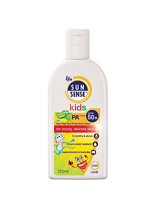 Sunsense Kids Sun Cream SPF 50+, 125ml
