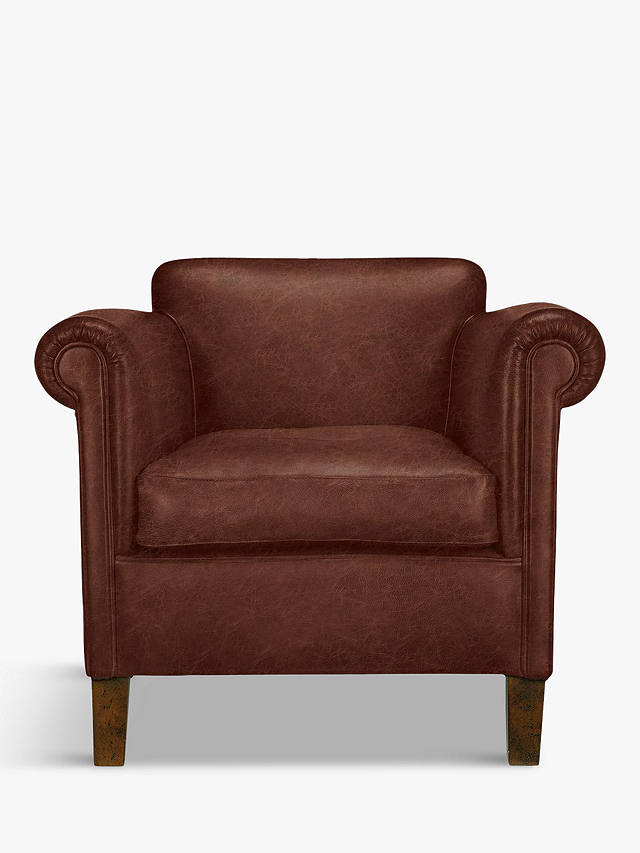 John Lewis & Partners Camford Leather Armchair, Galveston ...