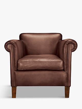 John Lewis Partners Camford Leather Armchair