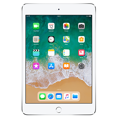 Image of Apple iPad mini 4, Apple A8, iOS, 7.9, Wi-Fi, 128GB