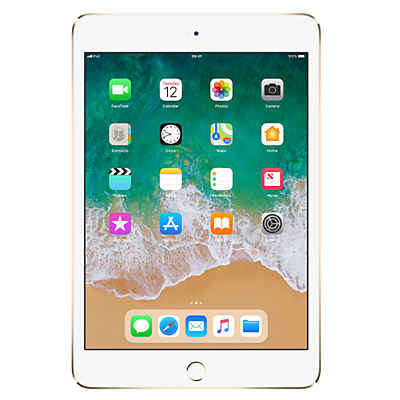 Image of Apple iPad mini 4, Apple A8, iOS, 7.9, Wi-Fi & Cellular, 128GB