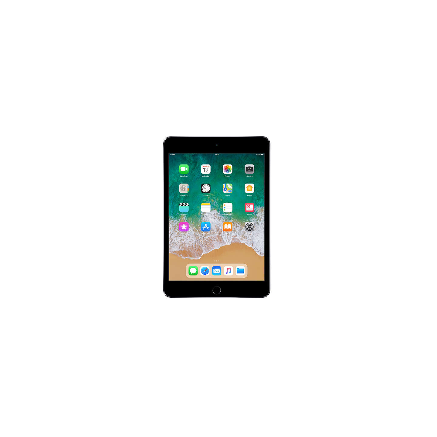 apple ipad mini 4 apple a8 ios 7 9 wi fi 128gb at john lewis. Black Bedroom Furniture Sets. Home Design Ideas