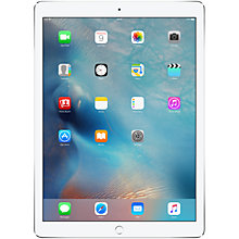 "Buy Apple iPad Pro, A9X, iOS, 12.9"", Wi-Fi, 32GB Online at johnlewis.com"