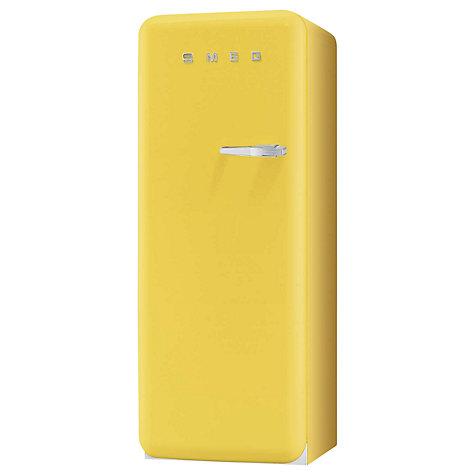 buy smeg fab28yg1 fridge a energy rating 60cm wide lefthand hinge