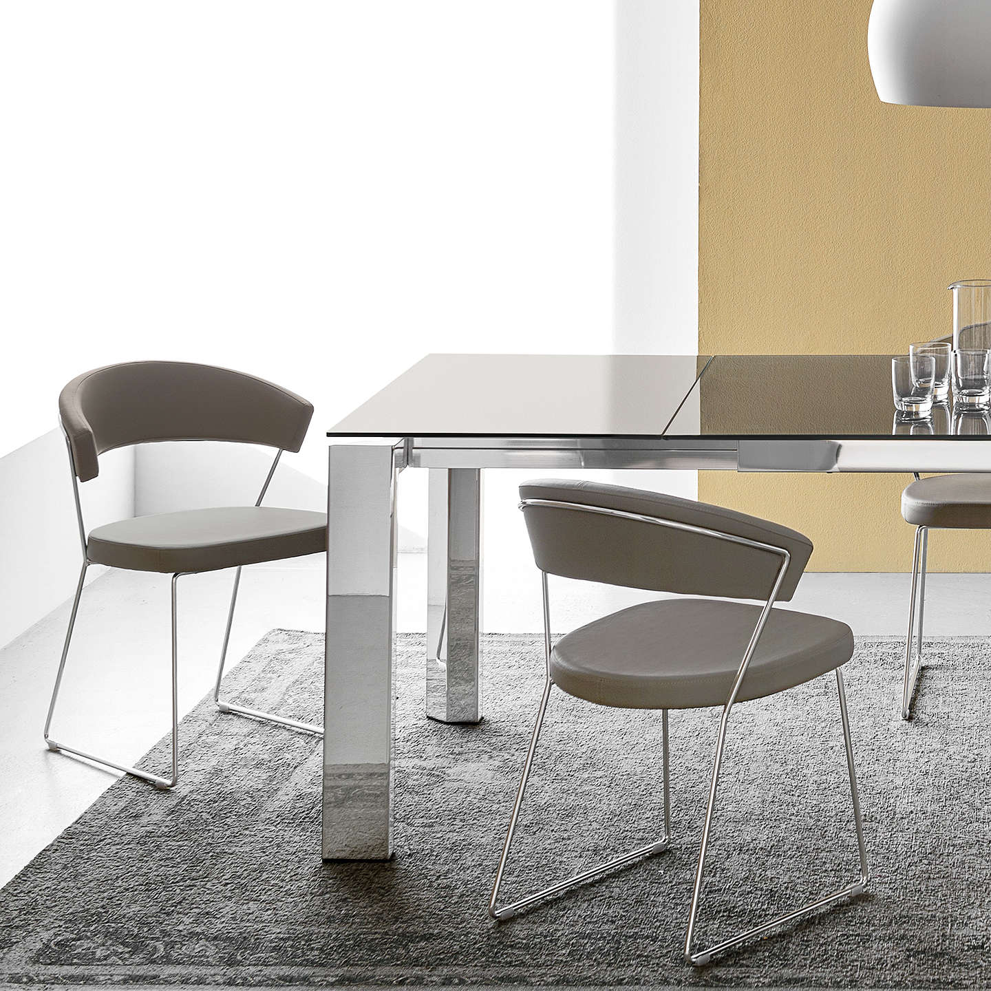 Connubia by calligaris new york dining chair at john lewis for Calligaris new york