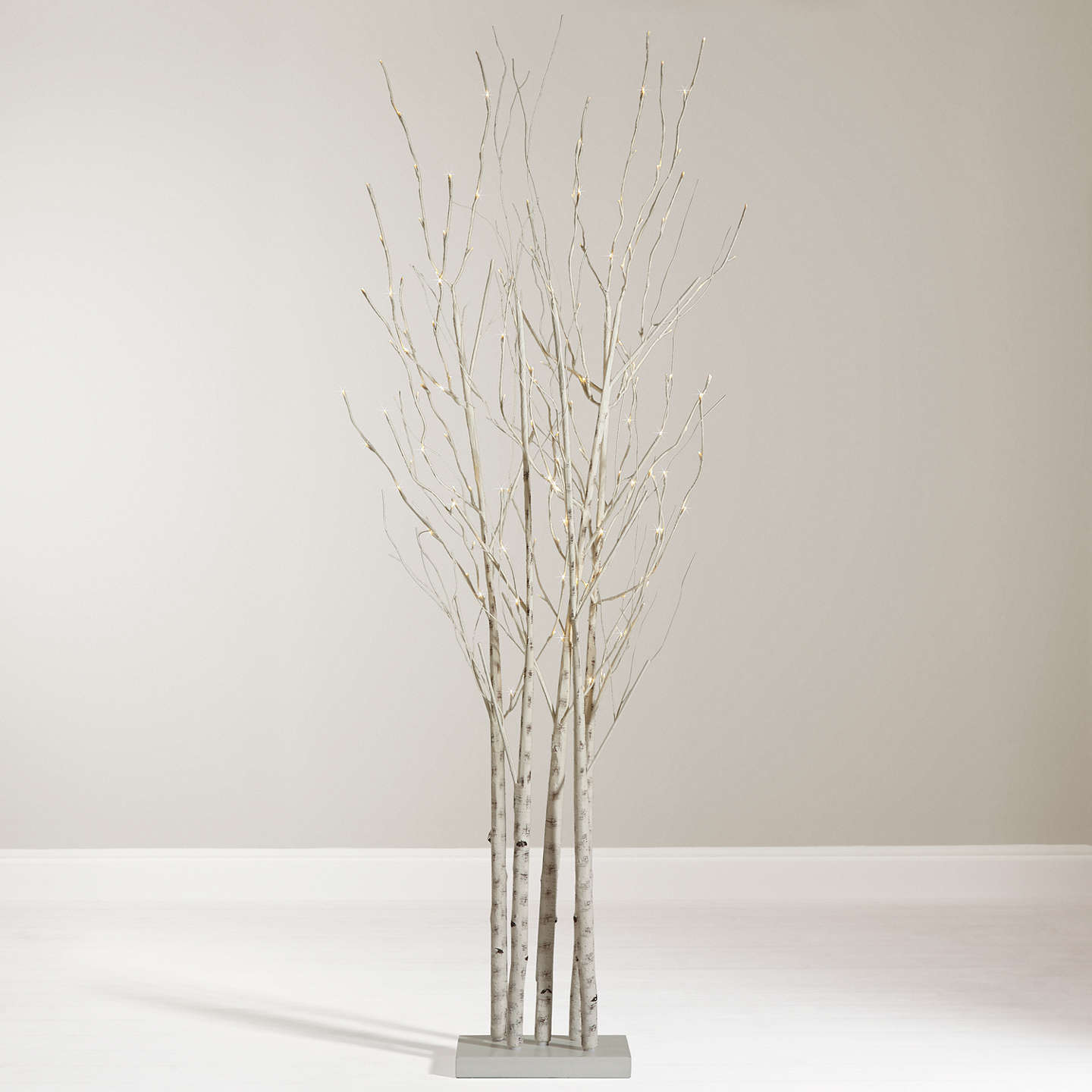 Buyjohn Lewis Pre Lit Birch Cluster, 6Ft Online At Johnlewiscom
