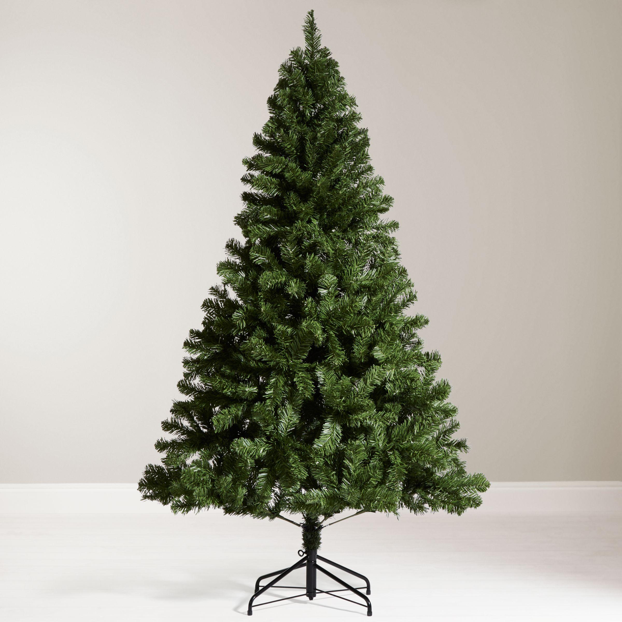 John Lewis The Basics Festive Fir Christmas Tree 6ft