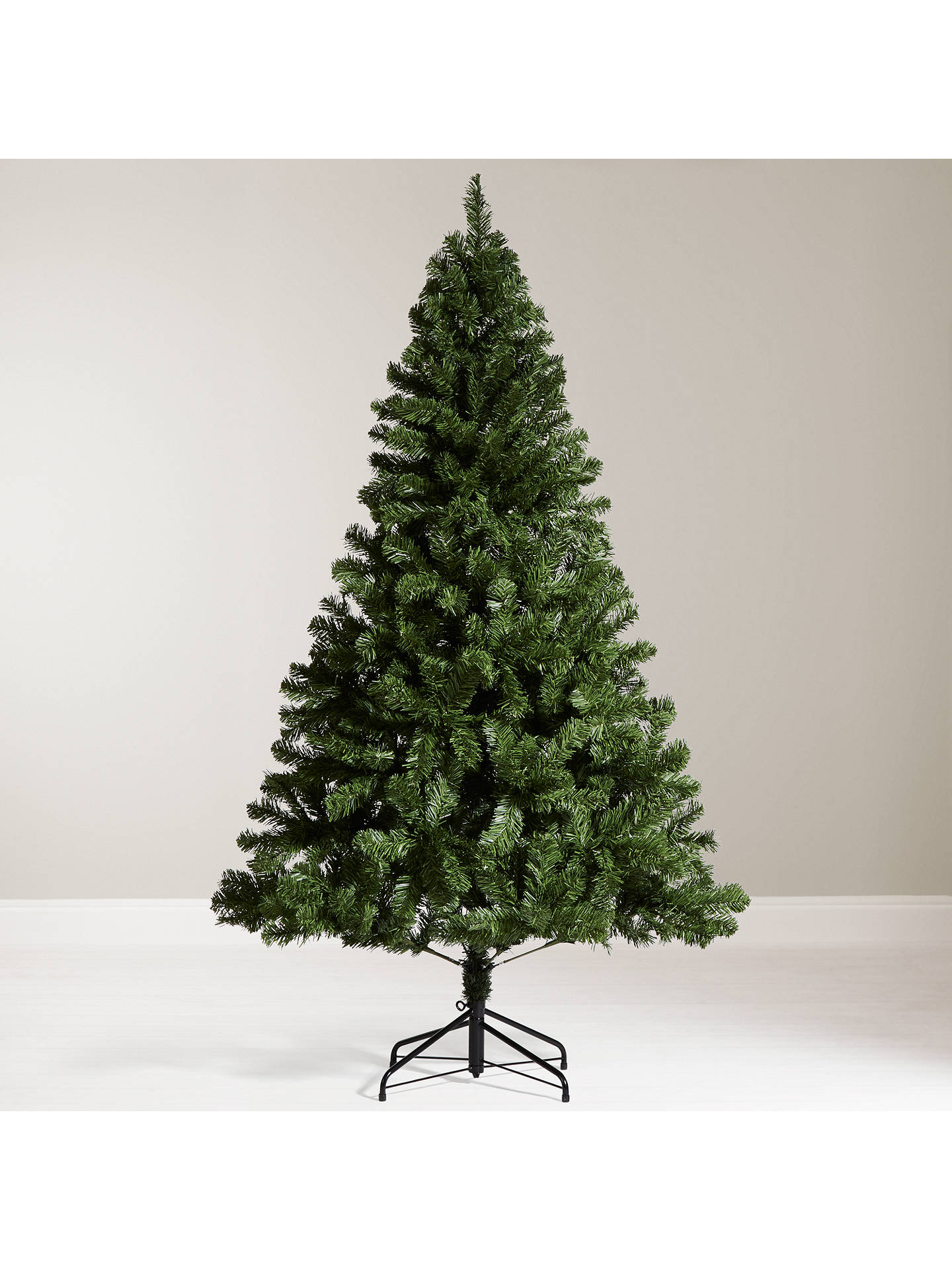John Lewis The Basics Festive Fir Christmas Tree 6ft Online At Johnlewis