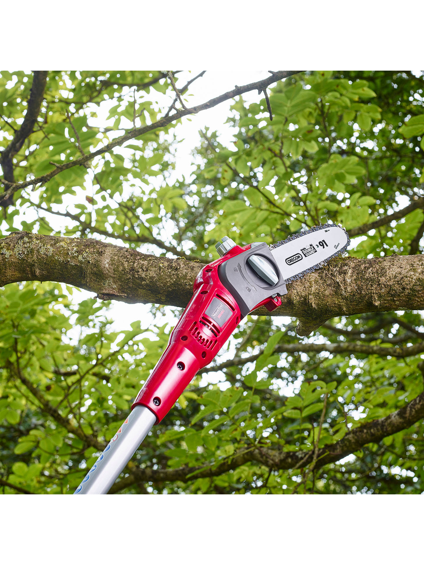 BuyMountfield MM48Li 48 Volt Lithium-Ion Cordless Pole Pruner & Hedge Trimmer Online at johnlewis.com