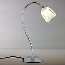 Buy John Lewis Brooke Touch Table Lamp, Chrome Online at johnlewis.com