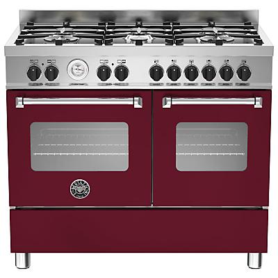 Image of Bertazzoni Master Series Twin Dual Fuel Range Cooker