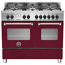 Buy Bertazzoni Master Series Twin Dual Fuel Range Cooker Online at johnlewis.com