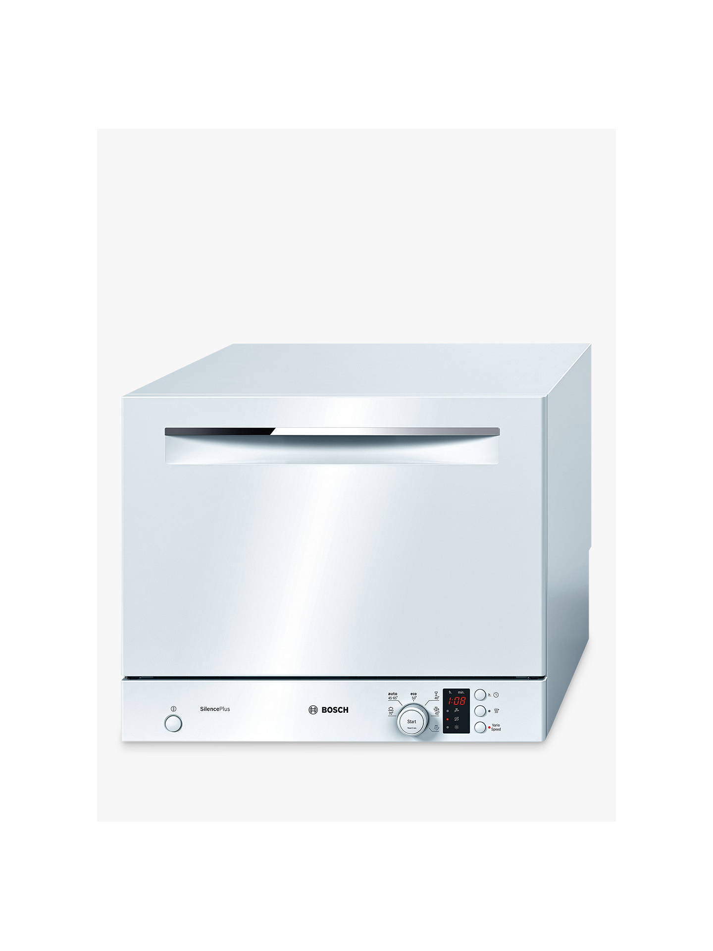 Buy Bosch SKS62E22EU Freestanding Dishwasher, White Online at johnlewis.com