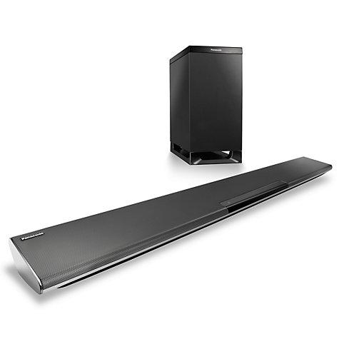 Panasonic Sc Htb485ebk 2 1 Bluetooth Nfc Sound Bar With Wireless Subwoofer Online At Johnlewis