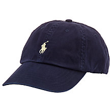 Buy Polo Ralph Lauren Baseball Cap, One Size, Navy Online at johnlewis.com