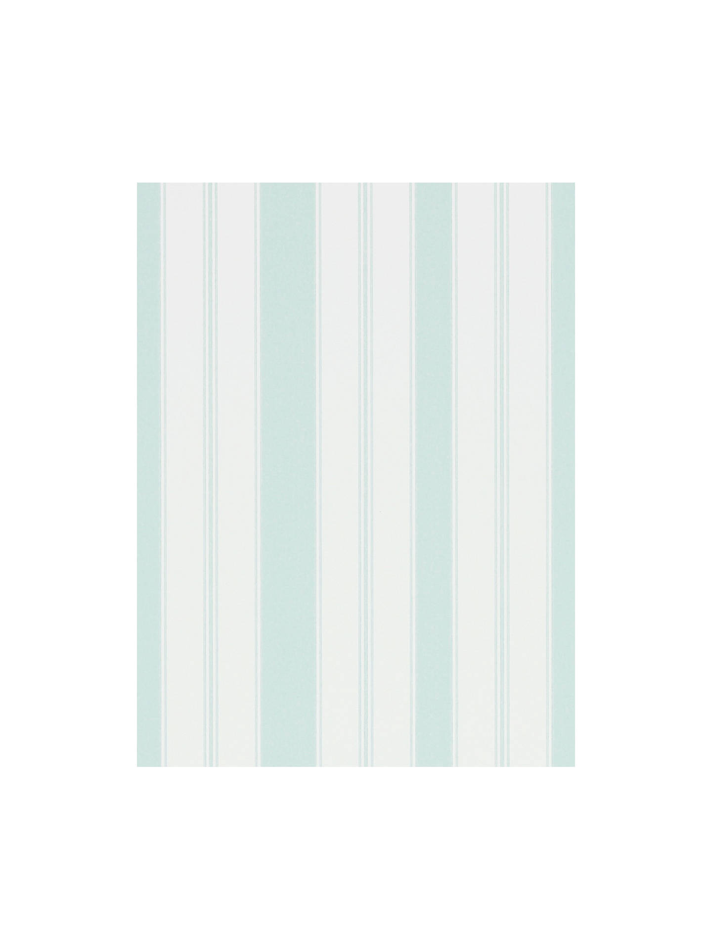 BuySanderson Cecile Stripe Wallpaper, Duck Egg, DVIN214578 Online at johnlewis.com