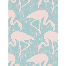 Buy Sanderson Flamingos Wallpaper Online at johnlewis.com