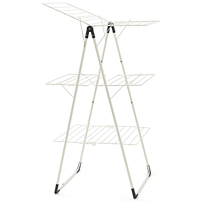 Brabantia Tower Clothes Drying Rack, Ivory