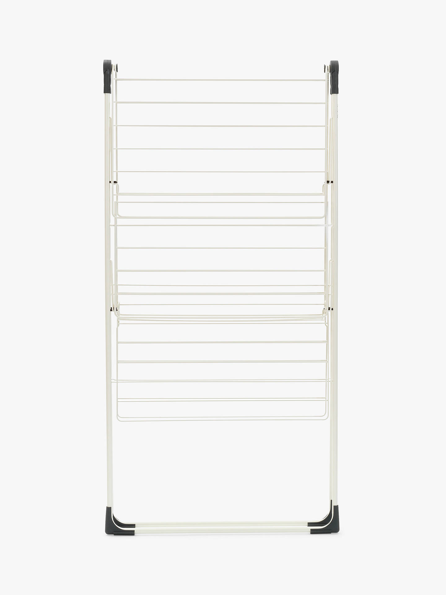 Buy Brabantia Tower Clothes Airer Drying Rack, White Online at johnlewis.com