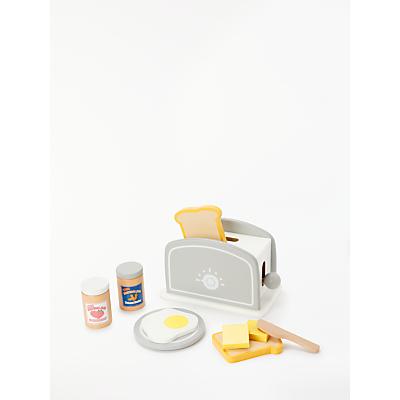 John Lewis & Partners Wooden Toaster