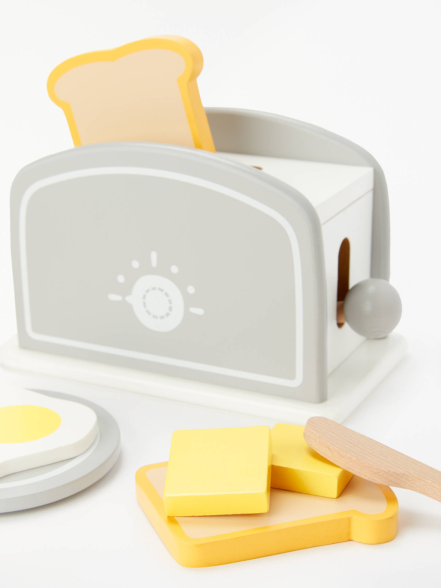 Buy John Lewis & Partners Wooden Toaster Online at johnlewis.com