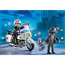 Buy Playmobil City Action Police Carry Case Online at johnlewis.com