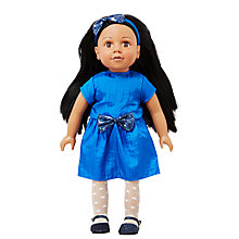 Buy John Lewis Isabelle Collector's Doll, Black Hair Online at johnlewis.com