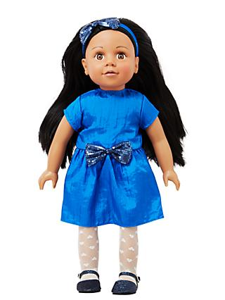 John Lewis & Partners Isabelle Collector's Doll, Black Hair